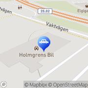 Karta Holmgrens Bil Växjö, Sverige