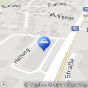 Karte WELWICH - Die Karosserie- und Lackexperten Wolfsberg, Österreich