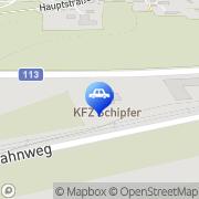 Karte KFZ MEISTERBETRIEB SCHIPFER - 1a Autoservice Kammern im Liesingtal, Österreich