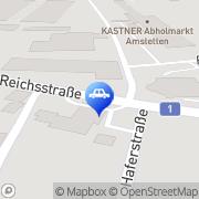Karte OMV Tankstelle Amstetten, Österreich
