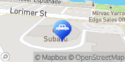 Map Subaru Interactive Docklands Docklands, Australia