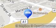 Map Bob Jane T-Marts Parramatta Park, Australia