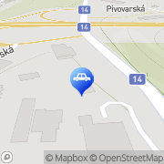Map Auto Diskont Liberec, Czech Republic