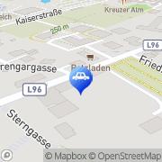Karte Schaff Wolfgang Petzenkirchen, Österreich