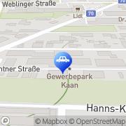 Karte Autoputzmeister Service Graz, Österreich