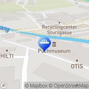 Karte Oldtimergarage Reinbacher Graz, Österreich