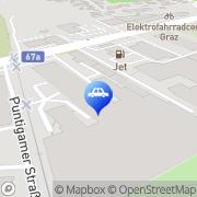 Karte AMS Auto- & Motoren Service Graz, Österreich
