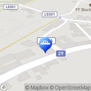 Karte Bischof Franz Bischofstetten, Österreich