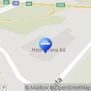 Karta Holmgrens Bil Karlskrona, Sverige