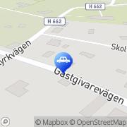 Karta Fyrbent.se Fagerhult, Sverige