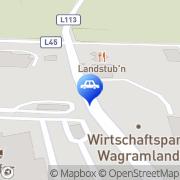 Karte Shell Tankstelle Grafenwörth, Österreich