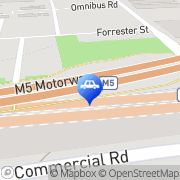 Map Bexley Driving School pty ltd Kingsgrove, Australia