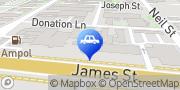 Map Peter Roberts Honda Toowoomba city centre, Australia