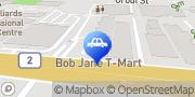 Map Bob Jane T-Marts Macgregor, Australia