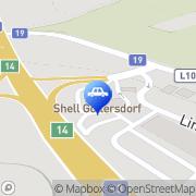 Karte Shell Tankstelle Göllersdorf, Österreich