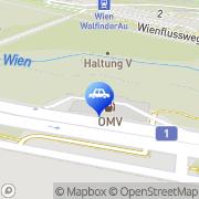 Karte OMV Tankstelle Wien, Österreich
