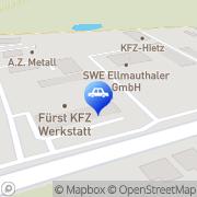 Karte Fürst Günselsdorf, Österreich