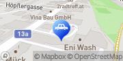 Karte Eni Tankstelle Wien, Österreich