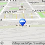 Karte Auto Spatny GmbH Wien, Österreich