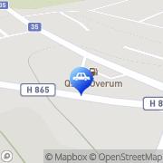Karta Qstar Överum Överum, Sverige