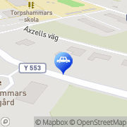 Karta Qstar Torpshammar Torpshammar, Sverige