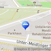 Karte CONTIPARK Parkplatz Traumazentrum Wien-Meidling Wien, Österreich