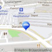 Karte Esso Tankstelle Wien, Österreich