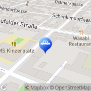 Karte SCO2T Rollersharing - Transport Service Solutions Wien, Österreich