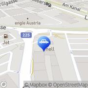 Karte Shell Tankstelle Wien, Österreich