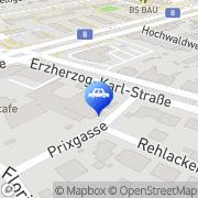 Karte KFZ Schmidt e.U. Inh. Gerald Nissl Wien, Österreich