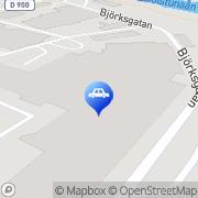 Karta USA Bil & Van Service Eskilstuna, Sverige