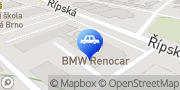 Map BMW Renocar a.s., Brno Brno, Czech Republic