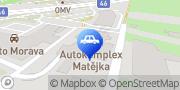 Map Jaguar Autokomplex Matejka s.r.o. Olomouc, Czech Republic