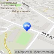 Mapa Muszyński Zbigniew. Wulkanizacja Środa Wielkopolska, Polska