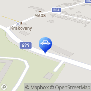 Map MOTOBIKER s.r.o. Krakovany, Slovakia