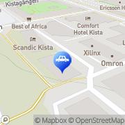 Karta IFE Group AB Kista, Sverige