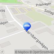 Karta Constant Clean AB Huddinge, Sverige