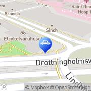 Karta S:t Görans Trafikskola AB Stockholm, Sverige