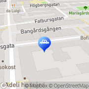 Karta Entrab AB Stockholm, Sverige