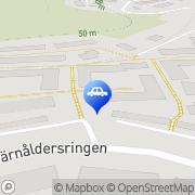 Karta Söderby Bilbärgning Söderby, Sverige