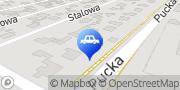 """Mapa Firma Handlowo-Usługowa """"Auto-Szef"""" Przemysław Szefka Gdynia, Polska"""
