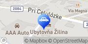 Map Mototechna Žilina, Slovakia