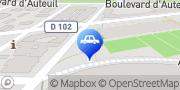Carte de Parking Indigo Paris Stade Jean Bouin Paris, France
