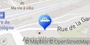 Carte de Parking Indigo Compiègne Gare Compiègne, France