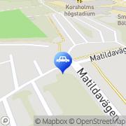 Kartta Autoliike Auto-Hatanmaa Oy Mustasaari, Suomi