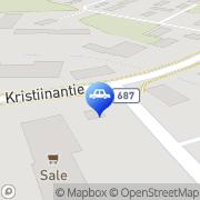Kartta ABC automaattiasema Karijoki, Suomi