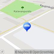 Kartta Neste A24 automaattiasema Harjavalta, Suomi