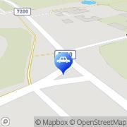 Kartta Neste A24 automaattiasema Isokyrö, Suomi