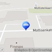Kartta MC Lifestyle Kokkola, Suomi