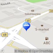 Kartta ABC automaattiasema Lehtimäki, Suomi